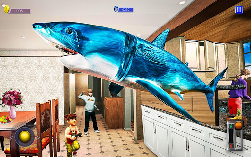 Flying Shark Simulator : RC Shark Games 1.1 screenshots 8