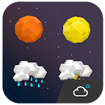 Star style weather iconset Icon