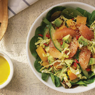 Florida Grapefruit Superfood Salad.