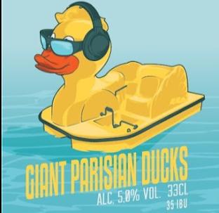 giant parisian ducks