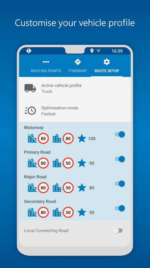 MapFactor GPS Navigation Maps Screenshot 3