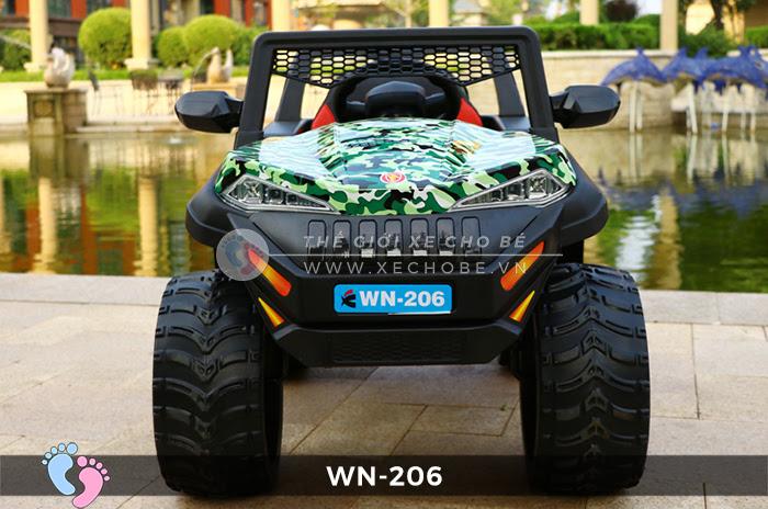 Xe hơi điện địa hình cho bé WN-206 5