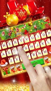 Merry Christmas 2018 Keyboard Theme - náhled