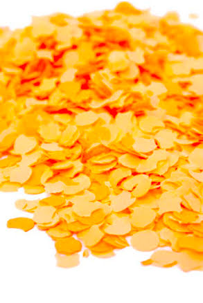 Konfetti, orange