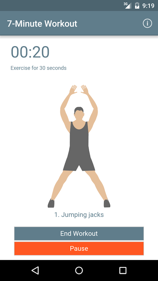 7-Minute Workout Guide- screenshot