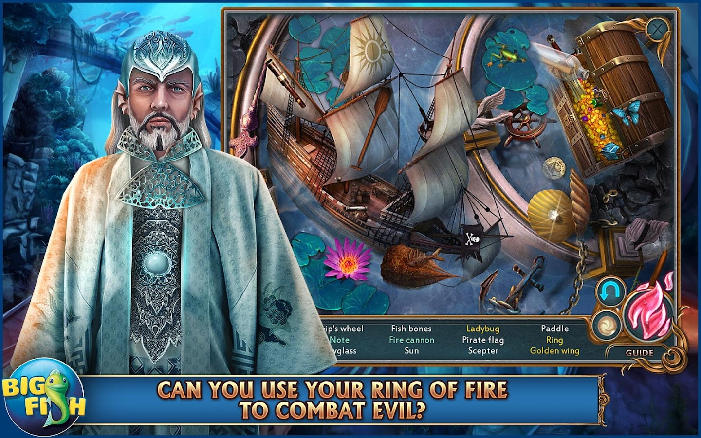 Nevertales: Legends - A Hidden Object Adventure- screenshot