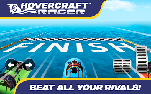 Hovercraft Racer 10.0 screenshots 8