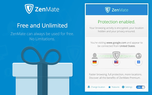ZenMate VPN - Best Cyber Security & Unblock Screenshot