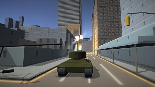 City Destroy - Tank Simulator