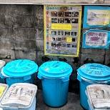 garbage sorting in japan in Tokyo, Tokyo, Japan