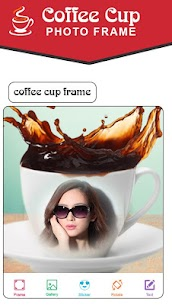 Coffee Cup Photo Frames New 1