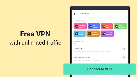 Aloha Browser Turbo – private browser + free VPN App Download For Android and iPhon 9