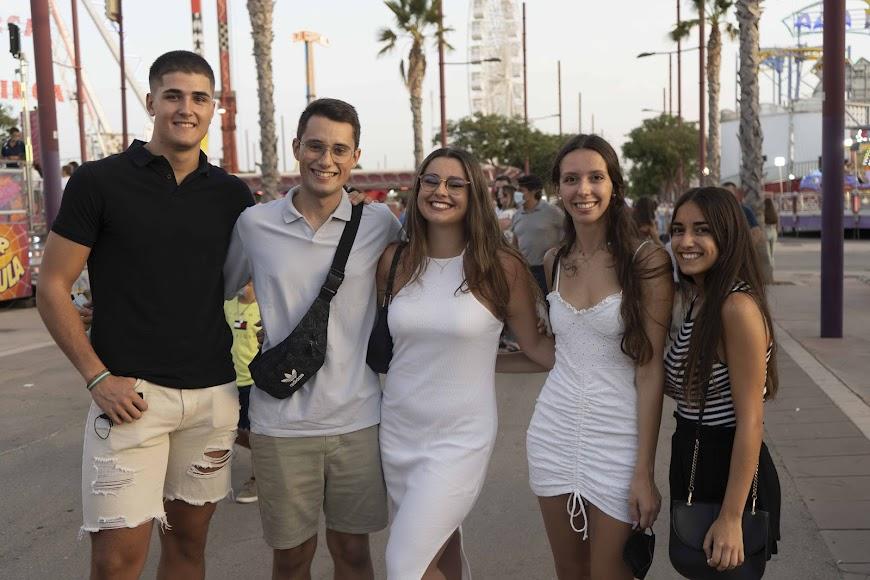 Paula, Fran, Javier, Pilar y Marta