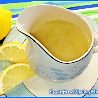 Myer's Lemon Syrup