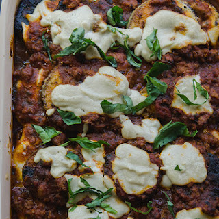 Paleo Eggplant Parmesan With Pork Ragu {Gluten-Free, Dairy-Free + Vegan Option}
