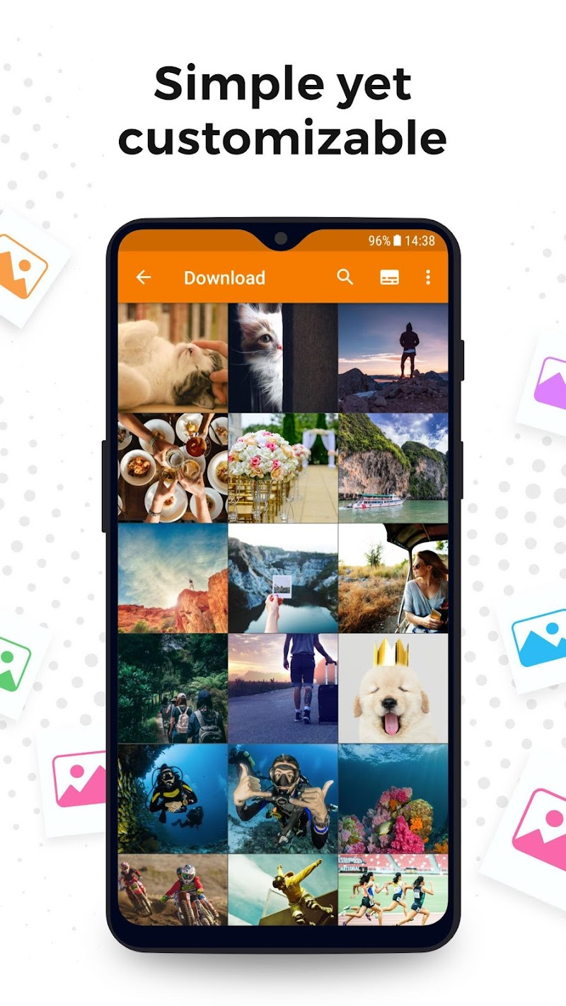Simple Gallery Pro: Photo Manager & Editor Screenshot 1