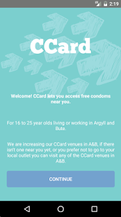 CCard AB- screenshot thumbnail