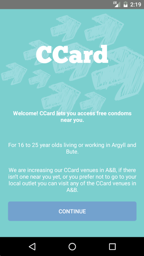 CCard AB- screenshot