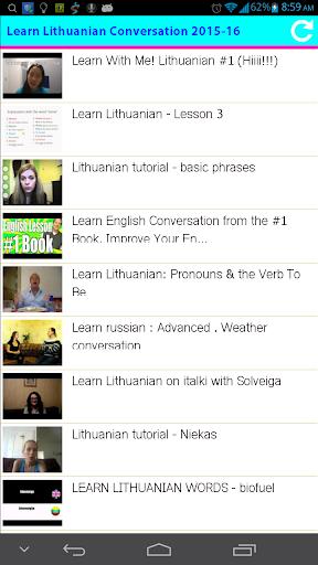 Learn Lithuanian Conversation