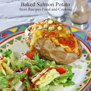 Baked Salmon Potato