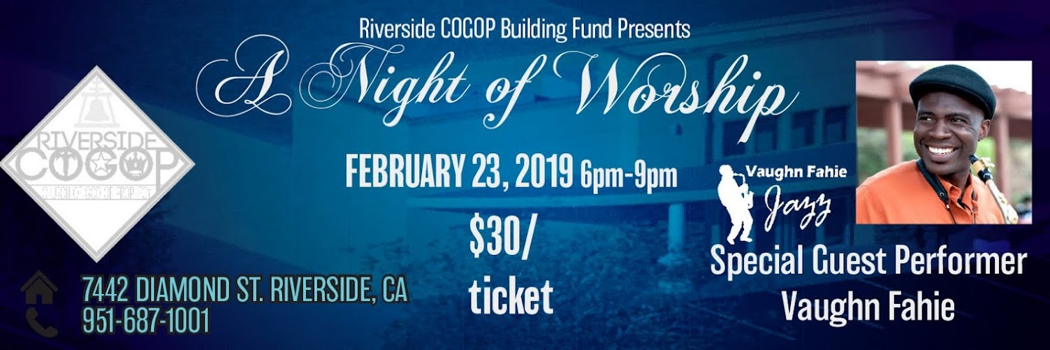 """A Night of Praise"" Building Fundraiser"