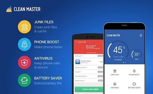 Clean Master (Boost & AppLock) Screenshot 8