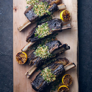 Slow-Cooked Short Ribs with Gremolata recipe | Epicurious.com.