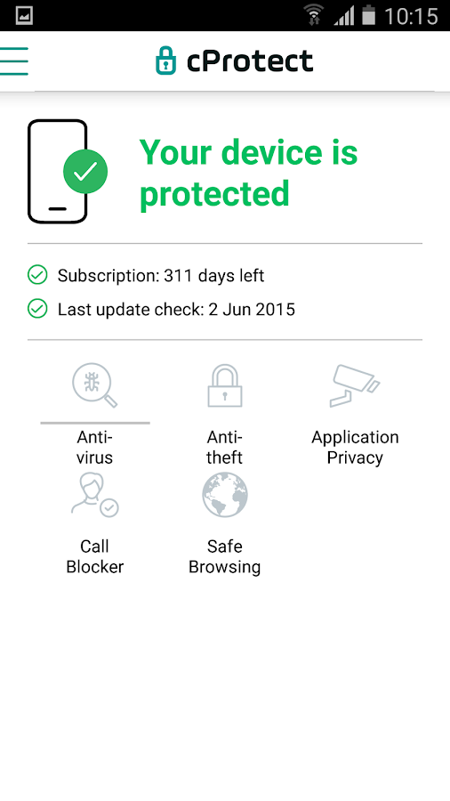 cProtect- screenshot