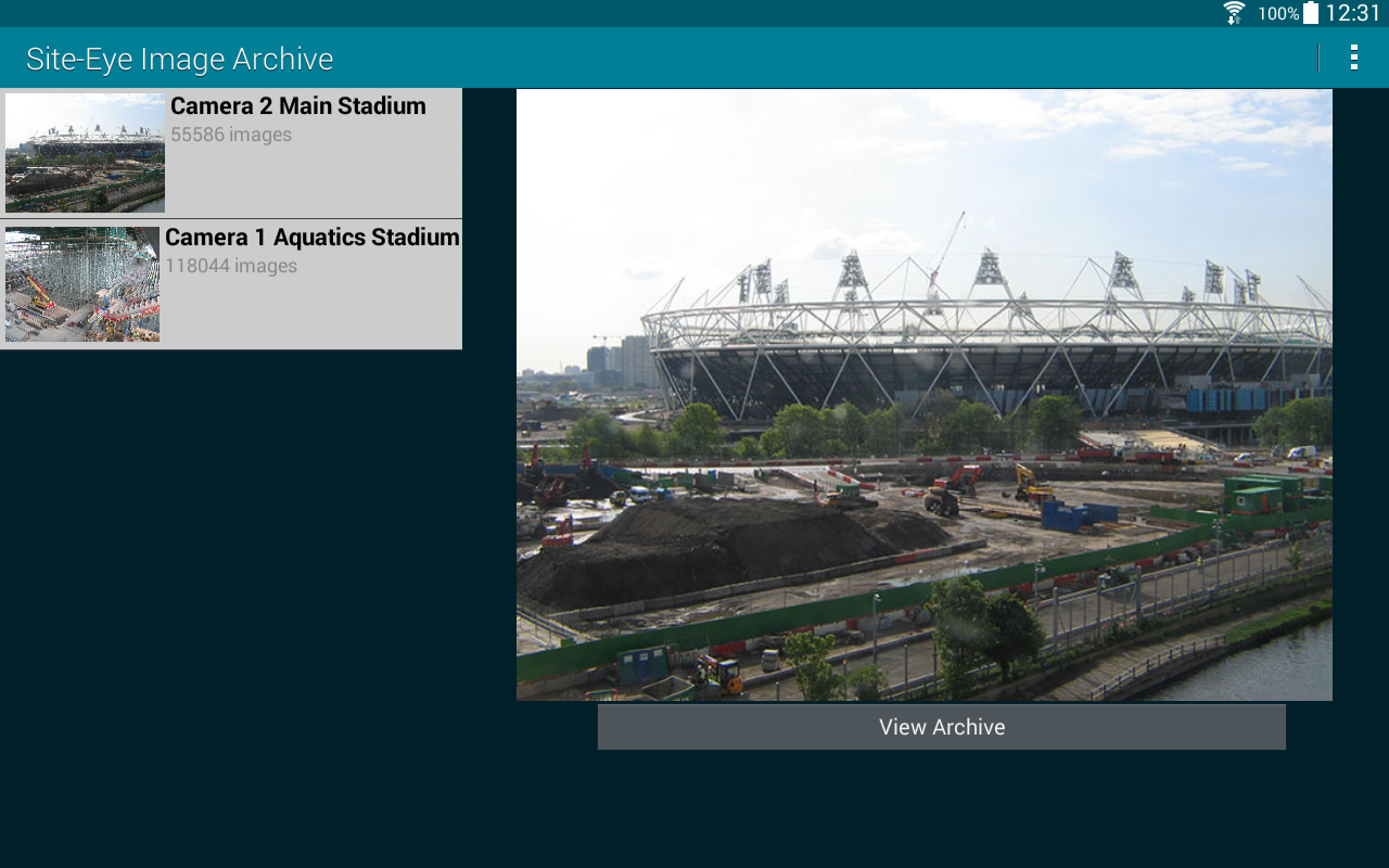 Site-Eye Image Archive Viewer- screenshot