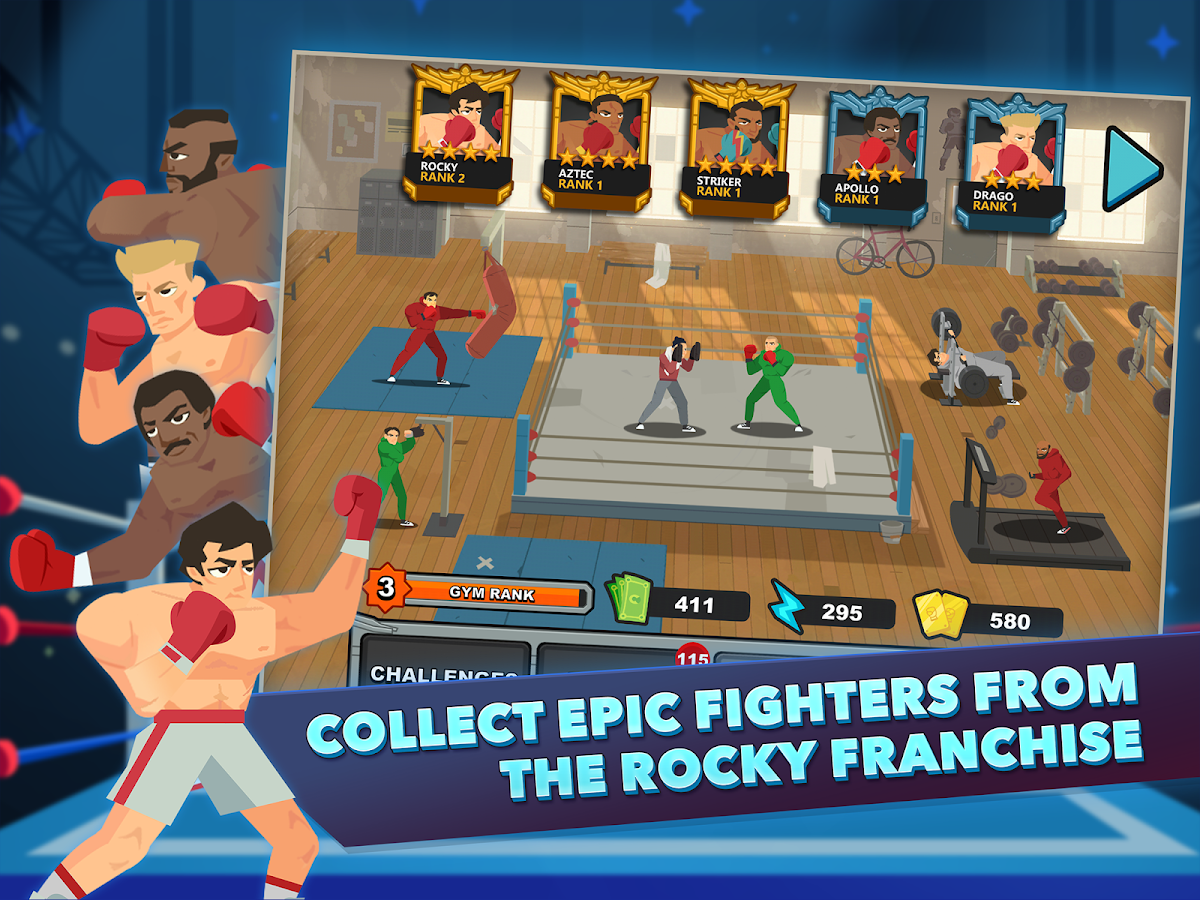ROCKY™- screenshot