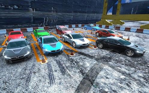 Future Concept Car Parking - náhled