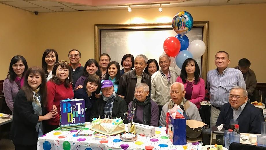 KM Nam Cali mừng sinh nhật các thầy