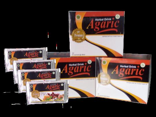 AGARIC HERBAL DRINK minuman serbuk agaric nasa agaric herbal jantung memperbaiki pencernaan