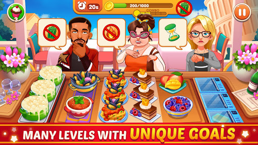 Cooking Dream: Crazy Chef Restaurant Cooking Games  screenshots 2