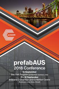 prefabAUS 2018 Conference - náhled