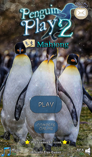 Hidden Mahjong: Penguin Play 2