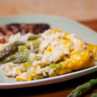 Asparagus & Rice Casserole