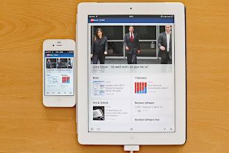 Photo: Google Currents auf iPhone und iPad