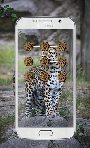 Leopard Pattern Lock Screen