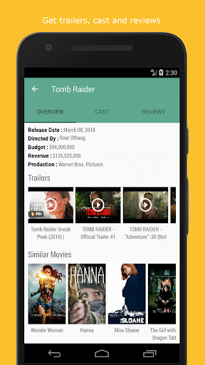 Movie & TV Listings – Recommendations & Reviews v1.9 screenshots 3