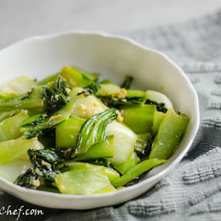 Ginger and Garlic Bok Choy Stir-Fry
