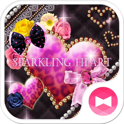 ★FREE THEMES★Sparkling Heart Icon