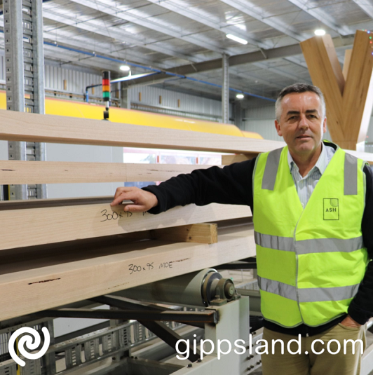 Local MP Darren Chester says Gippslanders are owed an explanation as to why the Victorian Government awarded a timber supply contract to a European company