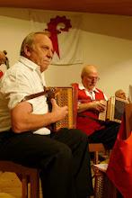 Photo: Volle Konzentration. Arno Ruch und Paul Hofer
