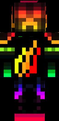 it has preston's fire logo it's LIT