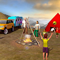 Camper Van Driving Truck 2018-Virtual Family Games icon