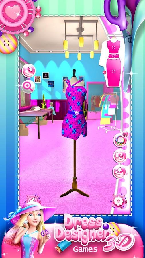 Dress Designer Game For Girls Screenshot