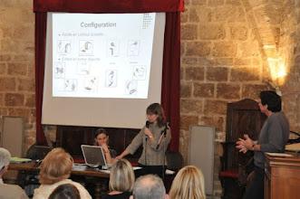 Photo: Mme Françoise Villemus (électrophysiologiste, CHU Montpellier) et José Zirah