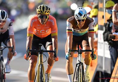 """Naesen zegt wat hij denkt over ploegmaat Van Avermaet: """"Voorbeeld sinds dag 1"""" en """"Wilde me naar BMC halen"""""""