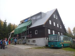 Photo: Náš dočasný domov - chata Pod Vlčí jámou.